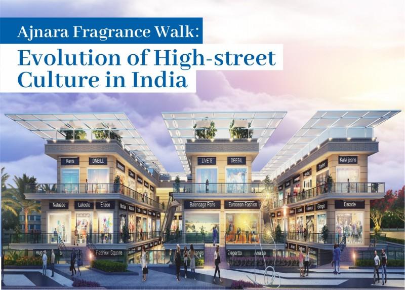 Retail Shop For Sale in Ghaziabad : Ajnara  Fragrance Walk